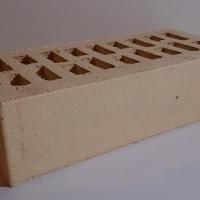 кирпич клинкерный ОБЛИЦОВОЧНЫЙ ПУСТОТЕЛЫЙ 250х120х65 мм, Ваниль,РУСА (гладкий)