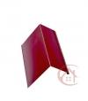 Планка карнизная красное вино (RAL 3005) 2м