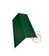 Планка карнизная зелёная (RAL 6005) 2м