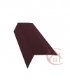 Планка карнизная коричневая (RAL 8017) 2м