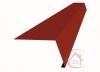 Планка карнизная красная окись (RAL 3009) 2м