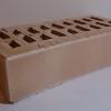 кирпич клинкерный ОБЛИЦОВОЧНЫЙ ПУСТОТЕЛЫЙ 250х120х65 мм, Песочный,РУСА (гладкий)
