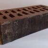кирпич клинкерный ОБЛИЦОВОЧНЫЙ ПУСТОТЕЛЫЙ 250х120х65 мм, Шоколад,УГЛИЧ (скала)