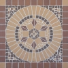 Мозаика ekoklinker Цветок Панно100х100 см